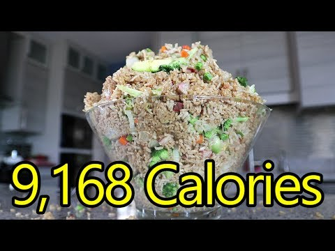 12.5lb Fried Rice Challenge