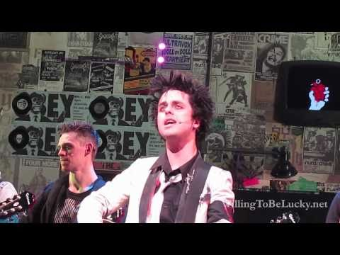 "Final ""Good Riddance (Time Of Your Life)"" on Broadway - American Idiot"