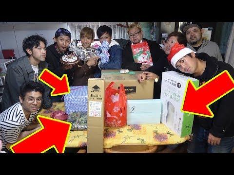 大人がクリスマスプレゼント交換会をボケ多めでやってみた!【ハイサイクリスマス 前半】