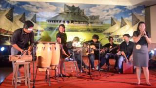 Penampilan Permata GBKP Pondok Gede di DelaFest 2013
