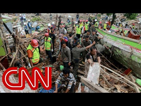 At least 373 killed in Indonesian tsunami