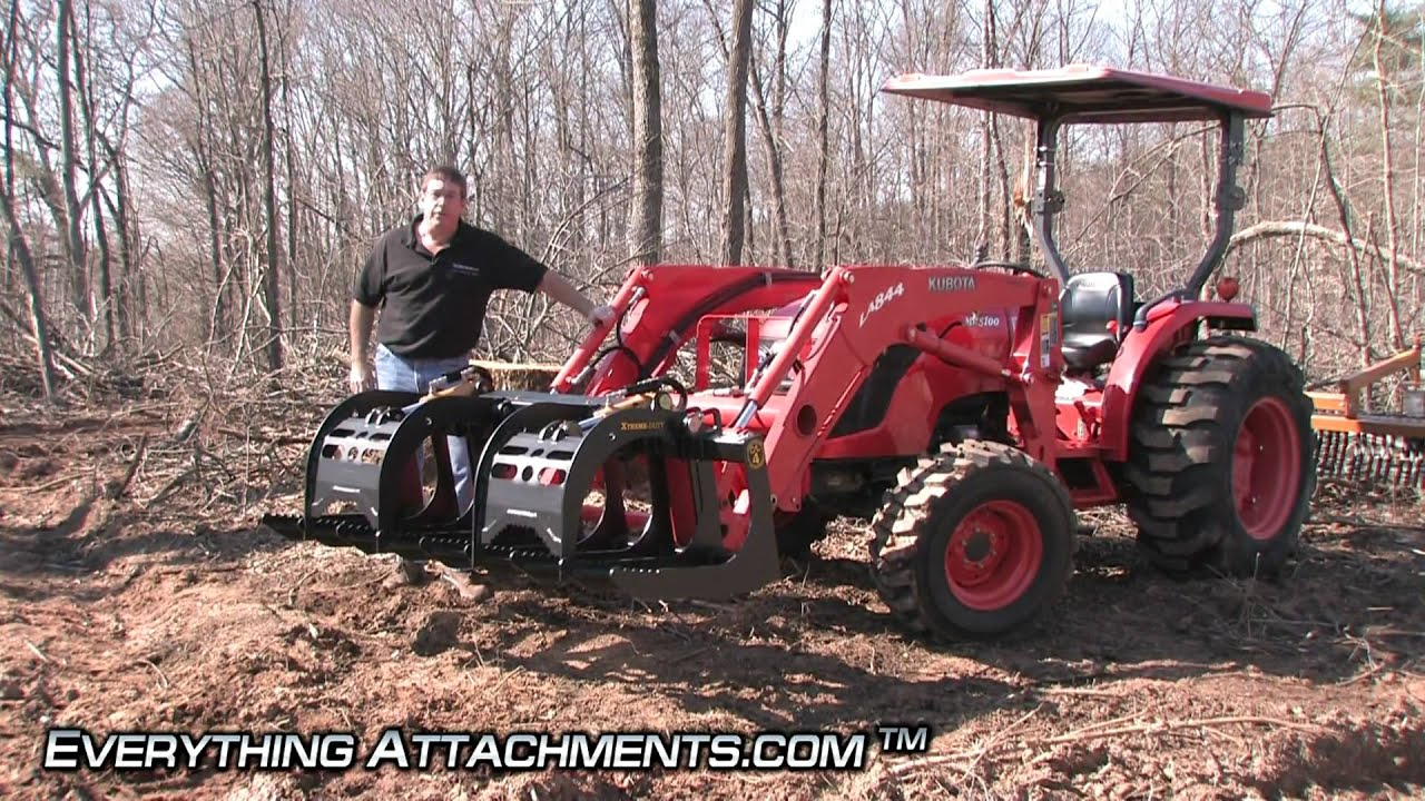 How To Use A Compact Root Grapple