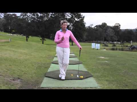 #41 The Lady Golf Teacher Web TV: How To Have a Balanced Golf Swing