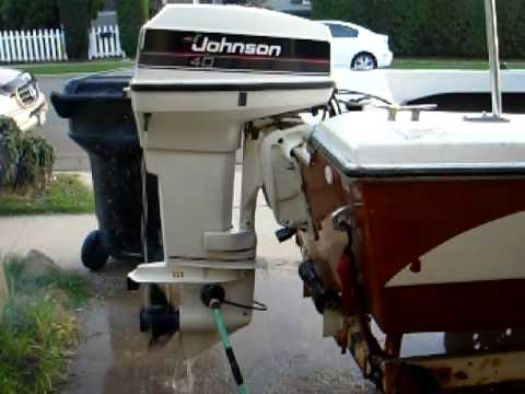 Force Outboard Motor Wiring Diagram Johnson Vro 40 Hp Nice Youtube