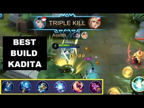 Kadita Best Build Solo Rank Gameplay Tips Item Gear Mobile