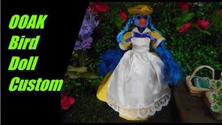 OOAK Bird Doll Custom