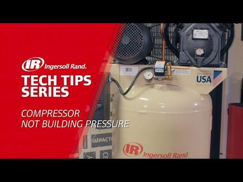 Compressor Not Building Pressure Troubleshooting Ingersoll Rand Reciprocating Air Compressor