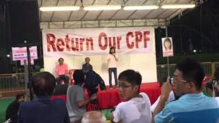 Han Hui Hui heckled at her election rally