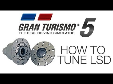 GT5: How to Tune LSD