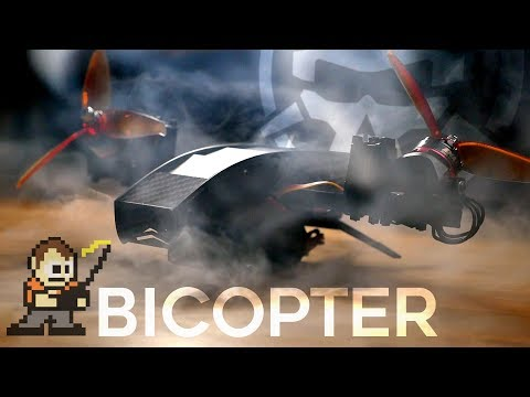 Bi-Copter!? (and Tricopter!) with David Windestål