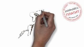 Нарисованные карандашом коты  Как нарисовать поэтапно упоротого кота