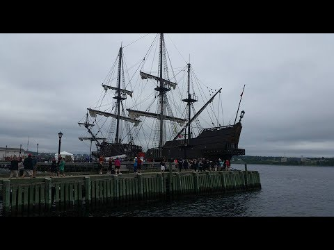 the Rendez-vous 2017 tall ships regatta festival Halifax