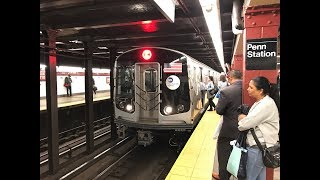 NYC Subway HD 60fps: Old Meets New; R32 & R179 A & C Trains @ 34th Street - Penn Station (5/23/19)