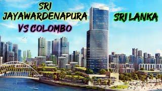 Sri Jayawardenapura The future city of Colombo in Sri Lanka