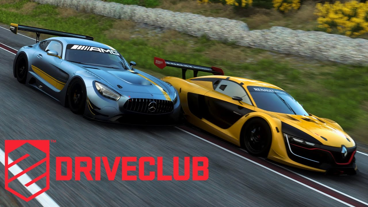 Project cars new mercedes amg gt3 previews virtualr sim racing - Driveclub Mercedes Amg Gt3 2016 Ps4 Youtube