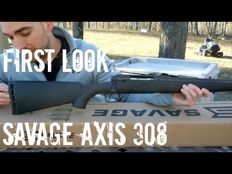 First Look: Savage Axis .308 Heavy Barrel (HD)