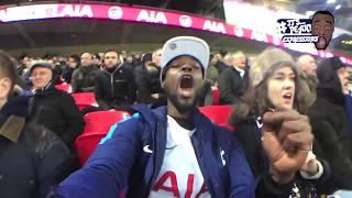 Tottenham (4) VS Everton (0) - A FAN EXPERIENCE | HEUNG MIN SONALDO CHAMPAGNE FOOTBALL DISPLAY