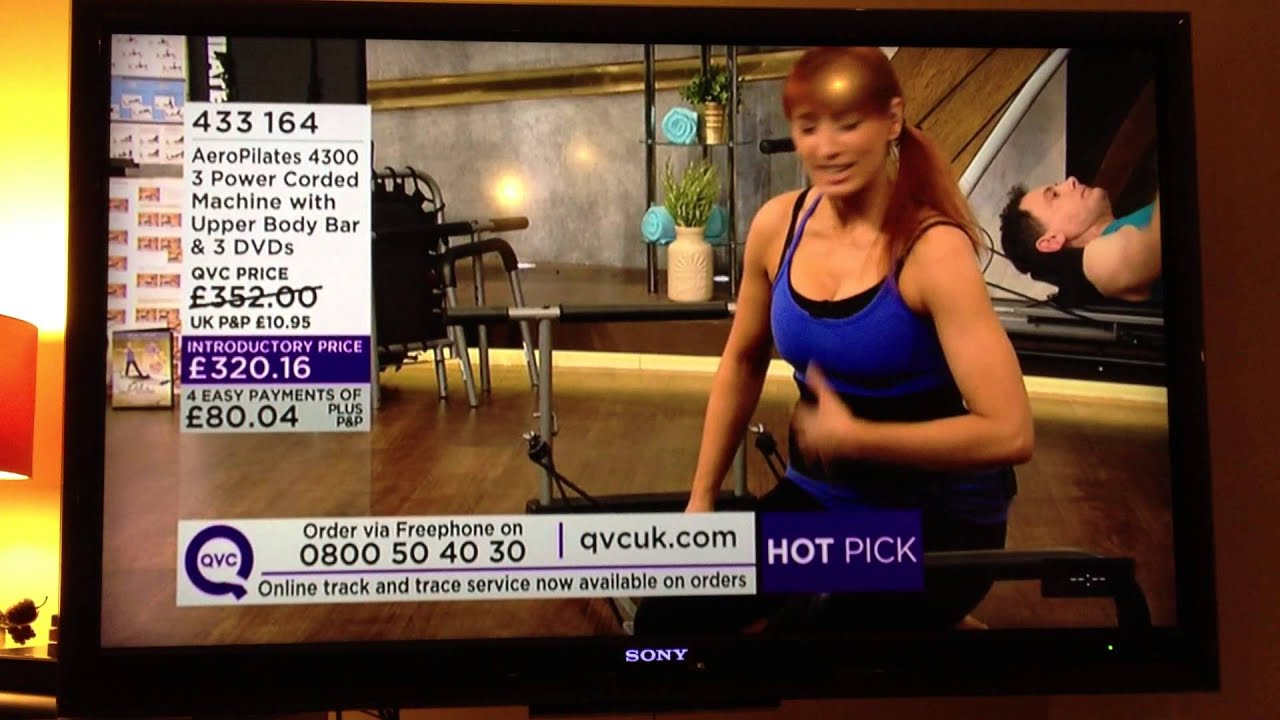 pilates reformer guide on qvc tv channel with emma newham of pilates