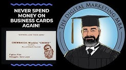 You Should Never Spend Another Dime On Business Cards Again. (Digital Business Proximity Marketing)