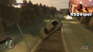 Viper crashes a Comet into everything in GTA IV