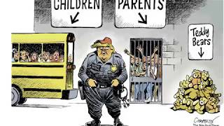 7 brutal cartoons about the family separation crisis