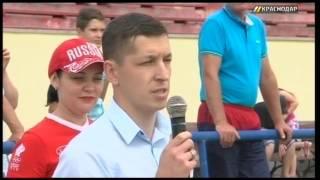 В Тимашевске стартовали соревнования турнира по футболу среди дворовых команд на Кубок губернатора