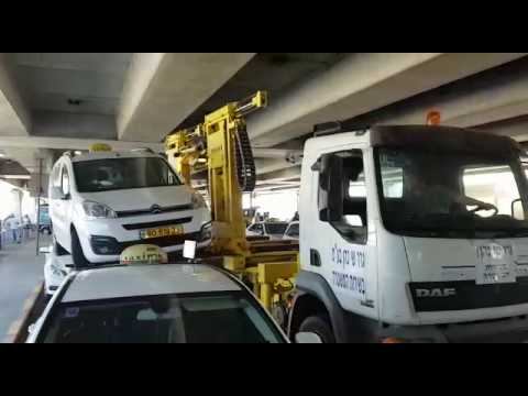 Unauthorized cab towed at BG Airport (Media Resource Group)