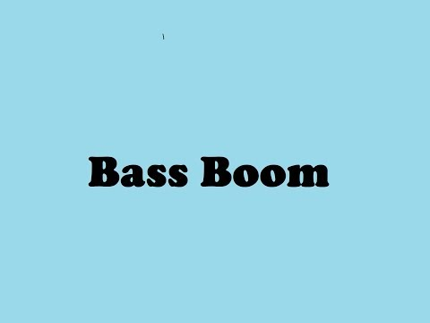 bass boom sound effect free download