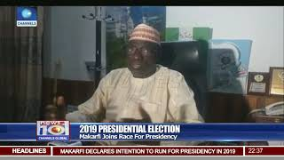 2019 election markafi joins race for presidency