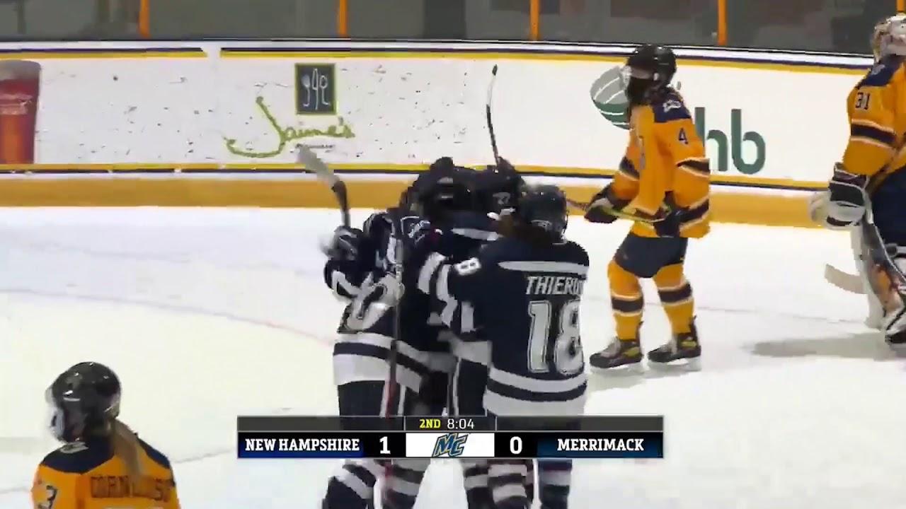WIH: Merrimack Women's Hockey vs UNH (1-22-21)