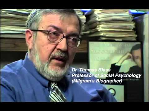 Milgram Experiment Proves We Blindly Obey Authority.