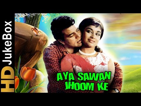 Aya Sawan Jhoom Ke (1969) | Full Video Songs Jukebox | Dharmendra, Asha Parekh