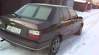 Fiat Croma зимой на летней резине