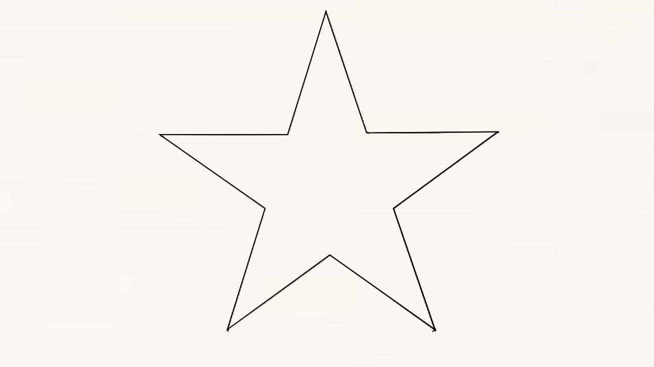 Как нарисовать звезду поэтапно фото