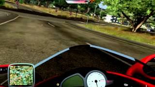 Esquentando o Motor Da Minha Motoca E Zoando No Transito(Test Drive Unlimited)
