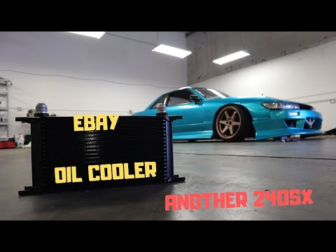 Oil Cooler For My 240sx And Picking Up Another 240