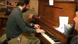 Tom Brier plays Maple Leaf Rag in A, G, B, and as a waltz in B