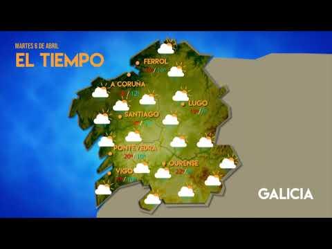 La previsión del tiempo en Ourense para este martes