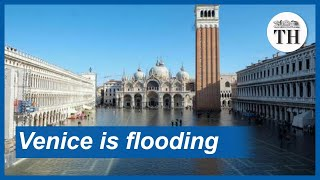 Venice is flooding
