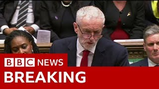 Corbyn: 'It is time for a general election' - BBC News thumbnail
