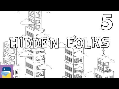 Hidden Folks: iOS iPad Air 2 Gameplay Walkthrough Part 5 (by Adriaan de Jongh)