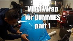 Vinyl Wrapping a Motorcycle for Beginners | Part 1 of 2