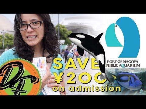 The Port of Nagoya Public Aquarium - Ticket Discount!