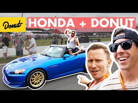 TJ Hunt, S2000s, and a Push-up Contest at Honda IndyCar | Donut Media
