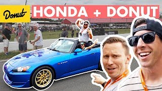 TJ Hunt, S2000's, and a Push-up Contest at Honda IndyCar | Donut Media