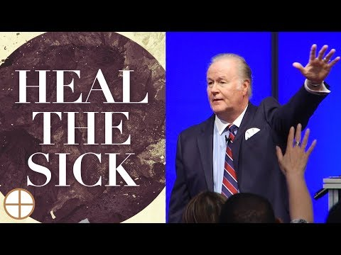 How to Lay Hands on the Sick - Richard Roberts Healing Service