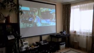 проектор для кинотеатра(Акция! Всего за 49800 рублей: видеопроектор, экран, крепление, провода, монтаж и настройка под ключ!!! Доставка..., 2013-05-29T07:20:10.000Z)