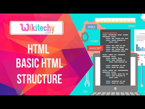 Html Basic Html Structure | Basic Html | Html | Html Website | Html Structure | Wikitechy.com