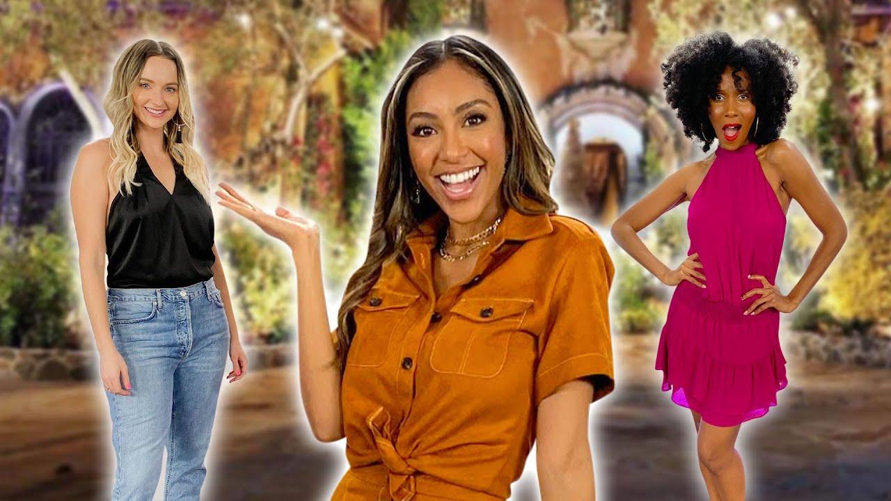 'The Bachelorette' Picks Our Outfits! ft. Tayshia Adams