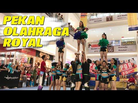 Tujuh Cabang Olahraga Semarakkan Pekan Olahraga Royal Plaza Surabaya